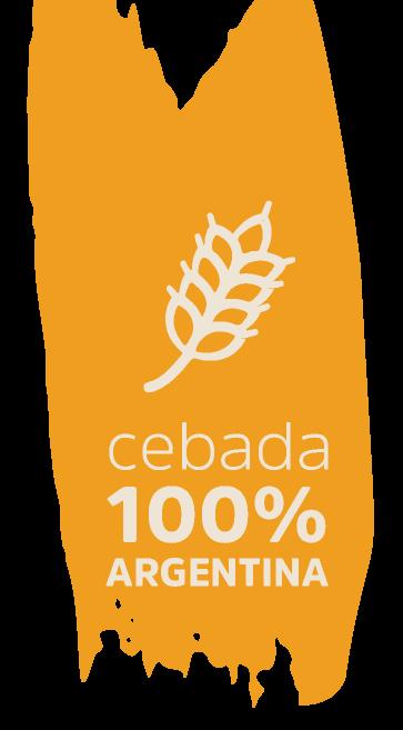 Cebada 100% Argentina